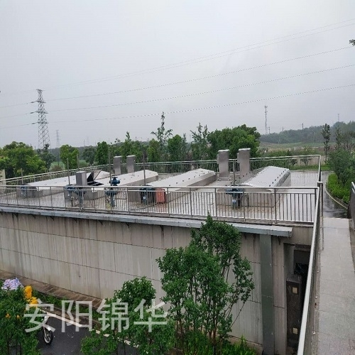 廊坊金华秋滨污水处理厂项目
